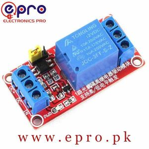 12V One Channel Relay Module in Pakistan