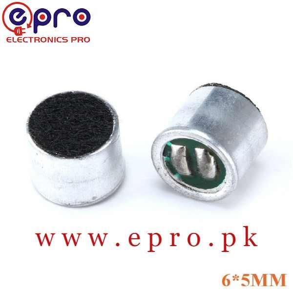 6050 6*5mm MIC Capsule Electret Condenser Pickup Microphone 52DB in Pakistan