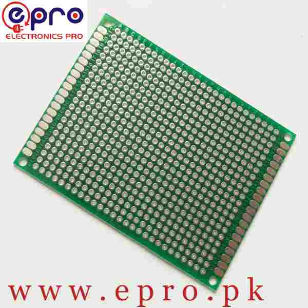 6x8 Double-sided FR4 Veroboard PCB in Pakistan