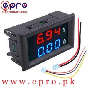 DSN-VC288 DC 100V 10A Voltmeter Ammeter in Pakistan