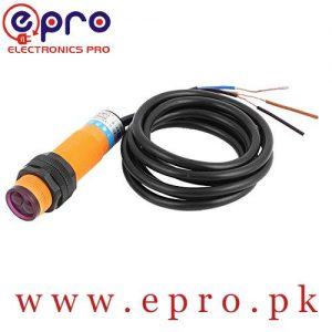 Omron DC 3 Wire DS10C4 10cm Infrared Ray Photoelectric Switch Sensor in Pakistan