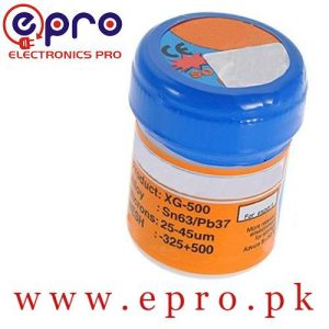 30Gram MECHANIC Solder Flux Paste Soldering Tin Cream Sn63/Pb37 XG-50 , New Package from MECHANIC MCN-300 in Pakistan
