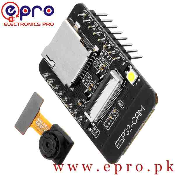 ESP32 Cam WiFi and Bluetooth OV2640 Board in Pakistan