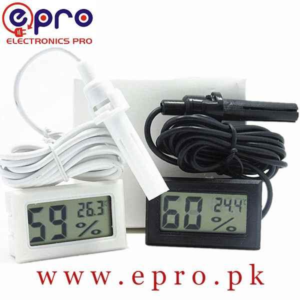 Mini LCD Digital Thermometer Hygrometer Incubator Meter in Pakistan