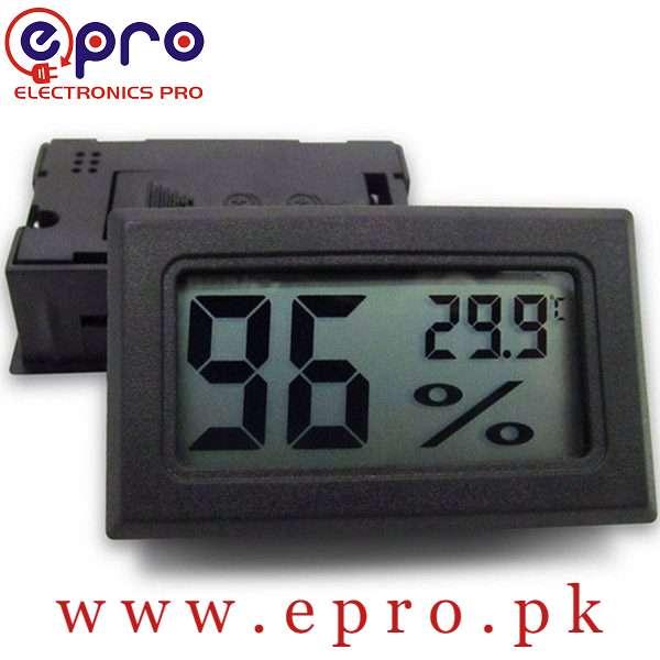 Digital Thermometer Temperature Hygrometer Indoor Humidity Meter in Pakistan