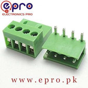 4 Pin Connector PCB Mount Right Angle Bent Screw Terminal in Pakistan