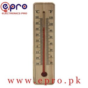 Hanging Wooden Thermometer Temperature Meter in Pakistan