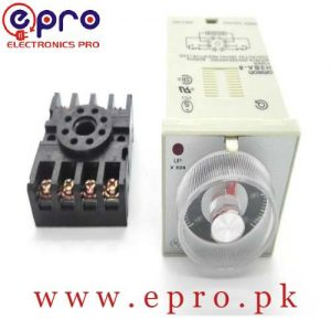 H3BA Omron Analog Timer 8 0.5s to 100Hours with Base in Pakistan