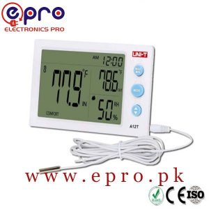 UNI-T Temperature and Humidity Meter A12T in Pakistan